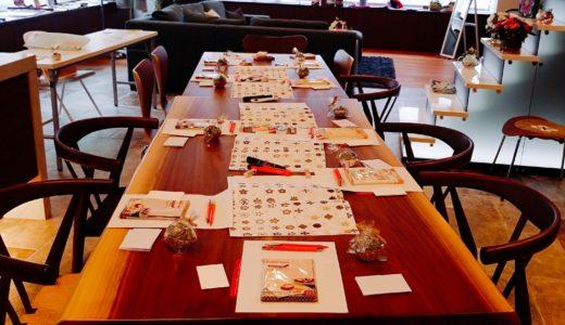 【満員御礼にて終了】初心者さんでも大丈夫!韓方お菓子を食べながら消しゴムはんこを作ろう!ワークショップを開催しました。
